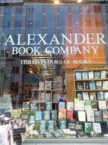 GTC in Window at Alexander Books (SF)